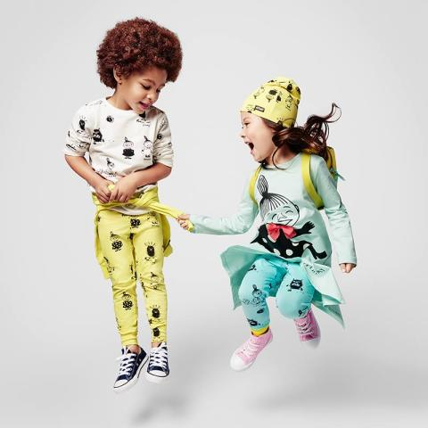 The Moomin's are back at all Lindex stores and online