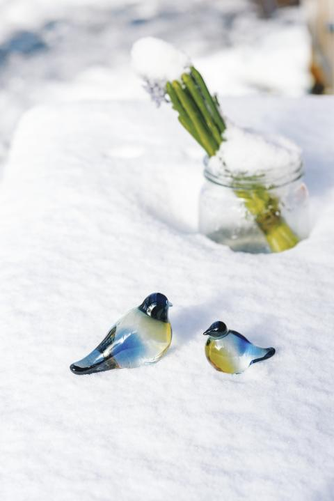 NYHET - Blåmeis fra Hadeland Glassverk