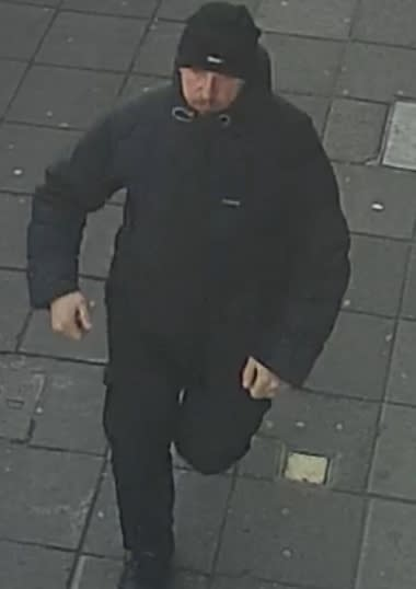 Police release image of man wanted in connection with Ealing office stabbing