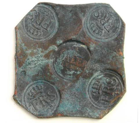 Kopparplåtmynt-33