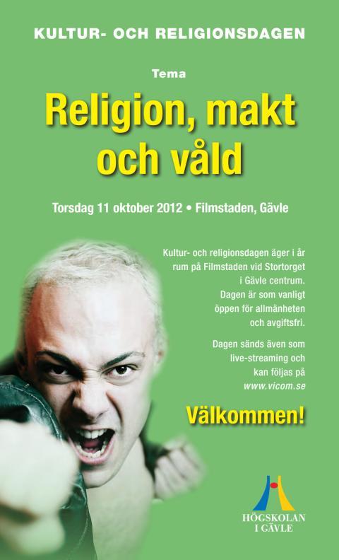 Program för Kultur- och religionsdagen 2012