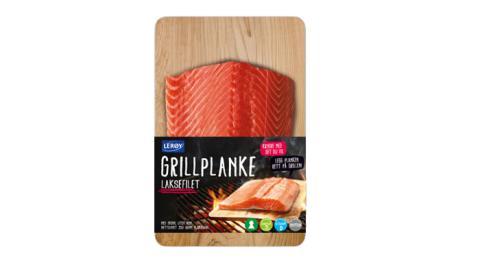 Grillplanke laks naturell