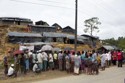 H&M Foundation stödjer Röda Korsets arbete i Bangladesh och Myanmar