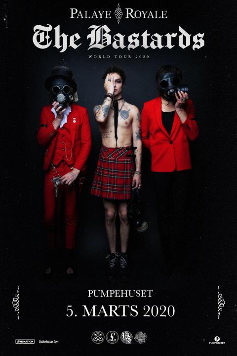 """Udråbt som """"det hotteste band i 2018"""" - Palaye Royale kommer til Pumpehuset"""
