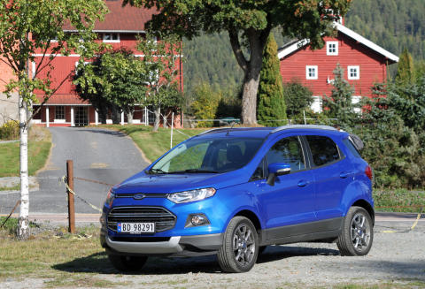 Stor interesse for nye Ford Ecosport