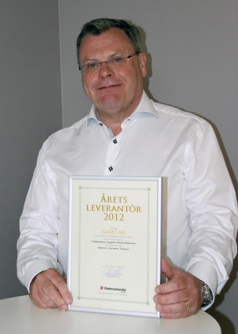GARO AB årets leverantör 2012