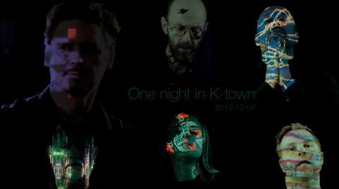 """One Night in K-town - DARK CONTINENT """"Kristianstads största band"""""""