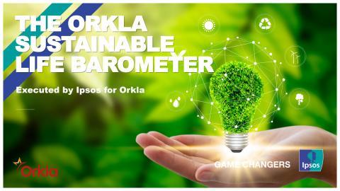 Rapporten Orkla Sustainable Life Barometer 2019