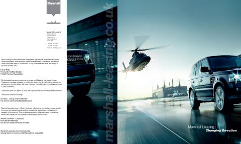Marshall Leasing Brochure