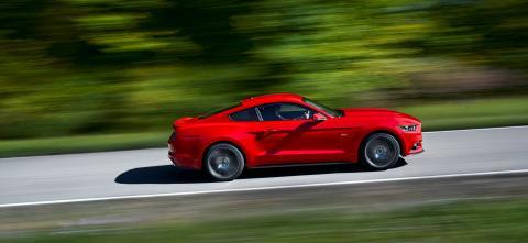 Nye Ford Mustang skal også selges i Europa