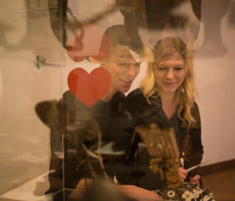 Valentinsdag på Nationalmuseet