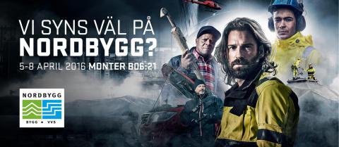 DET ÄR INGET SKÄMT  - BLÅKLÄDER STÄLLER UT PÅ NORDBYGG 2016!