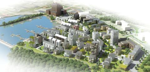 Mäktigt rekord när Västerås stad sökte Sveriges bästa hållbara byggare
