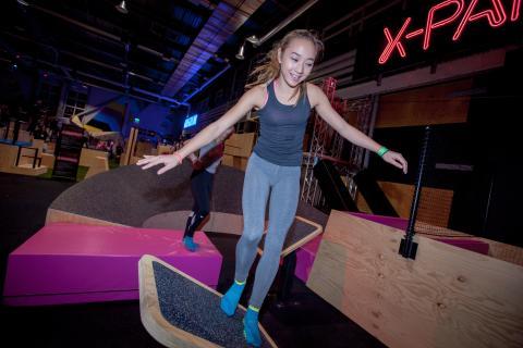 X-Park Quintuple Steps