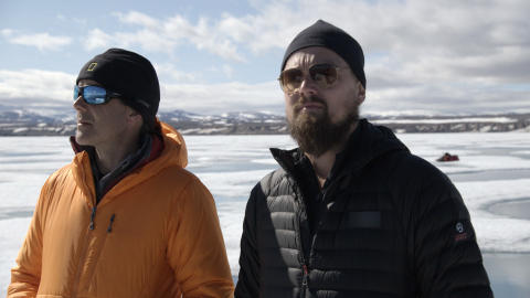 Leonardo DiCaprio blander sig i præsidentvalgkampen i  USA