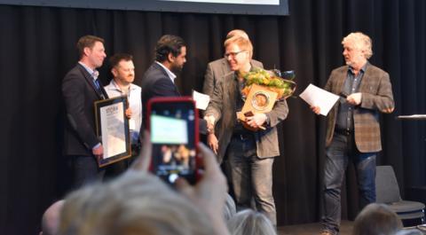 MidDec Scandinavia vinnare av Stora Inneklimatpriset