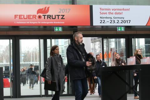 FeuerTRUTZ 2017 - Fachmesse mit Kongress für vorbeugenden Brandschutz