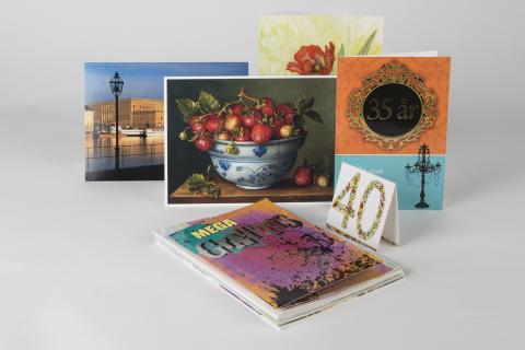 Gratulationskort från förra årets kollektion säljs ut billigt på matsmart.se