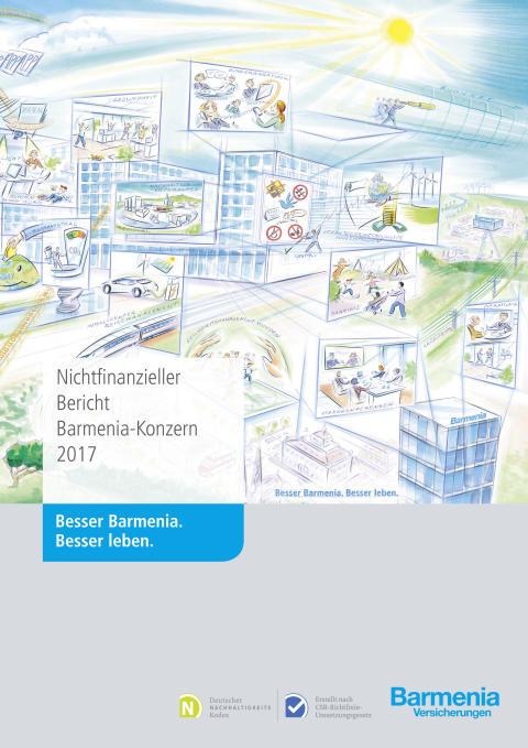 Barmenia gibt Auskunft über Sozial- und Umweltleistung