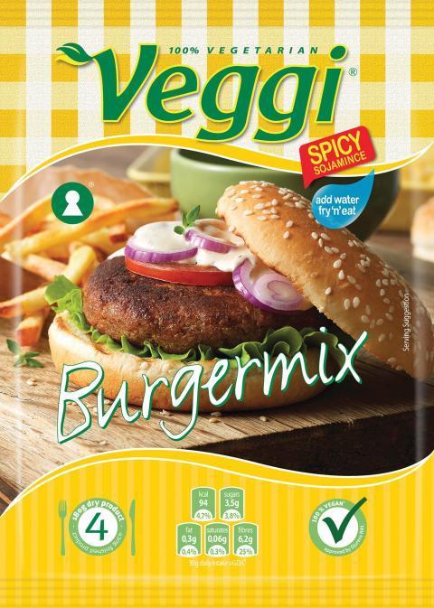 Veggi Burgermix
