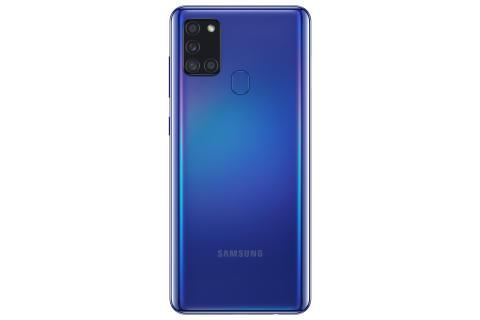 Galaxy A21s_Blue_Back