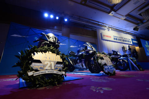 27_2017_YAMAHA FACTORY RACING TEAM 鈴鹿8耐3連覇祝賀会