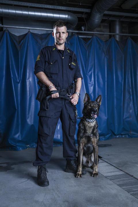 Hundepatruljen Oslo - Kristian og Nestor