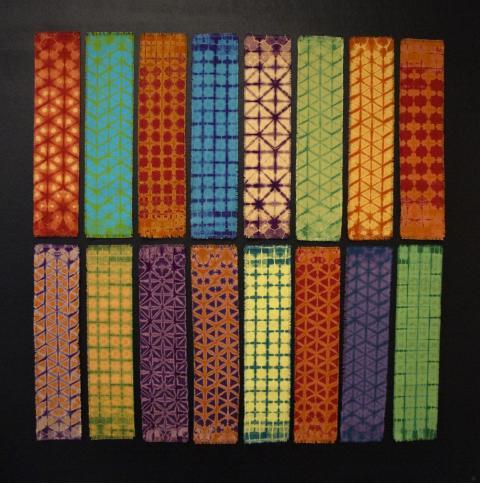 Shibori – en japansk mönstringsteknik med Tomas Robefelt