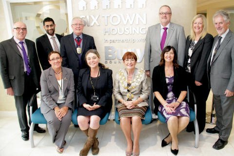 Redbank extra care scheme opening