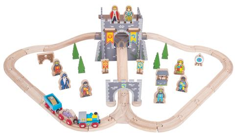 Bigjigs - Medieval train set