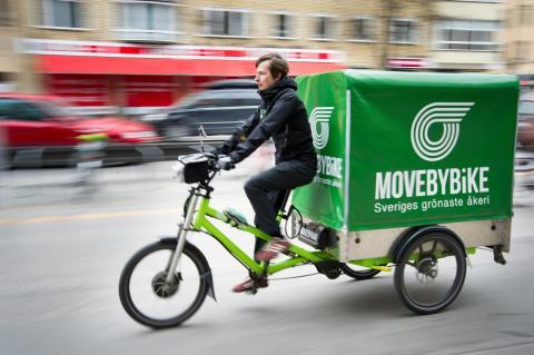 Smart cykellogistik kan ge attraktiva och effektivare städer - läs Jeppe Larsens inlägg på Samhällsbyggarbloggen!