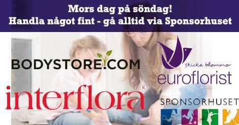 Gör mamma glad på Mors dag! Köp en present och ta med henne på HuFF-match på söndag!