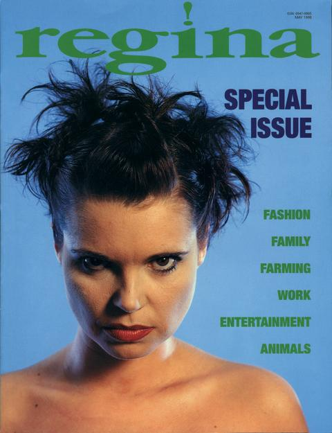 regina No. 3, 1998. Cover Photo: Nigel Steer. Stylist: Michael Anthony