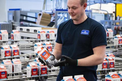 Norrmejerier satsar stort på nya mjölkförpackningar