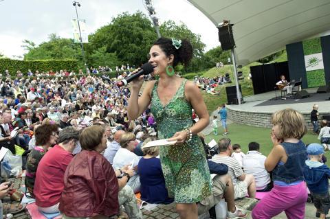 Oh boy! Allsång med Miriam Aida