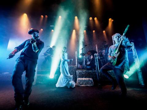 Gåte spelar på Larris Scene fredag 1. november