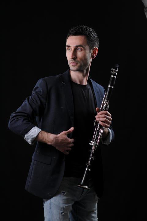 Blagoj Lamnjov, klarinett