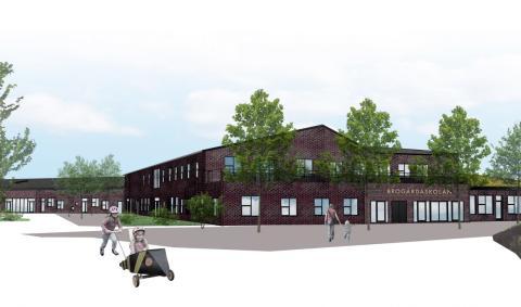 Bygglovshandlingar Brogårdaskolan