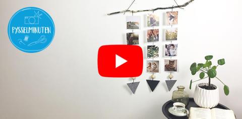 Pysselminuten - Smartphoto DIY