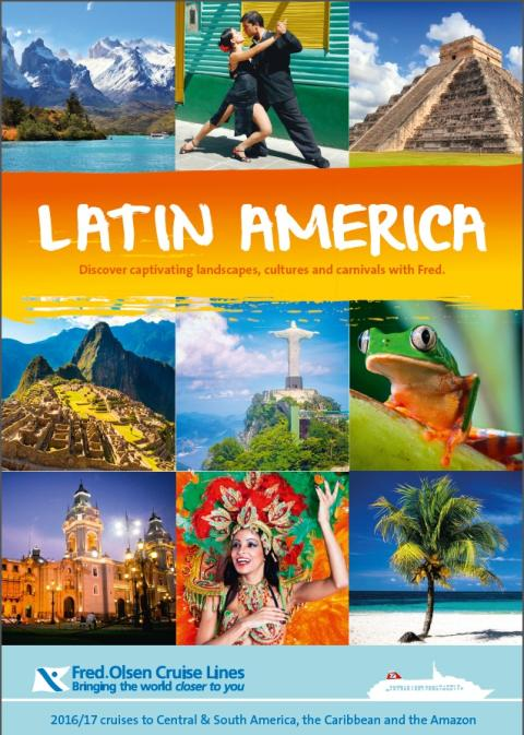 Uncover captivating landscapes, cultures and carnivals on a Fred. Olsen 'Latin America' cruise in 2016/17
