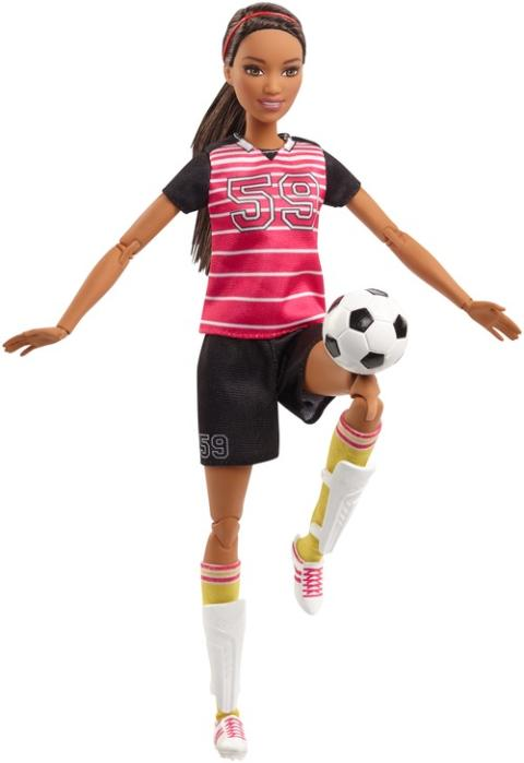 Barbie Made - to - Move Fußballerin