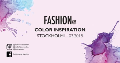 COLOR INSPIRATION STOCKHOLM