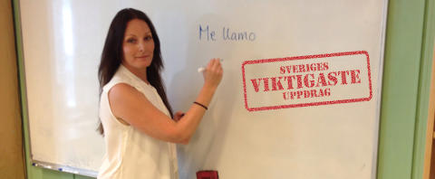 Kommunikation och tydlighet i Sandras språkundervisning