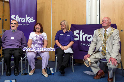 The Stroke Association calls on Huddersfield to help conquer stroke