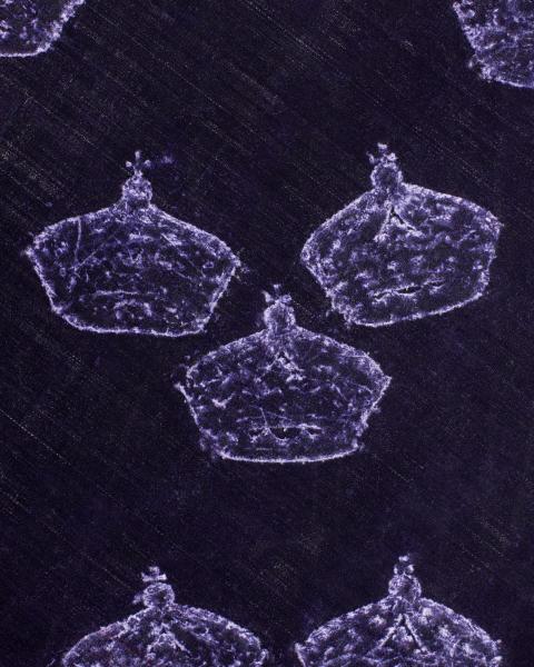 Detalj av drottning Kristinas kröningsmanteln