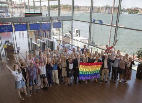 Stena Line ist stolzer Partner der EuroPride 2018 in Göteborg