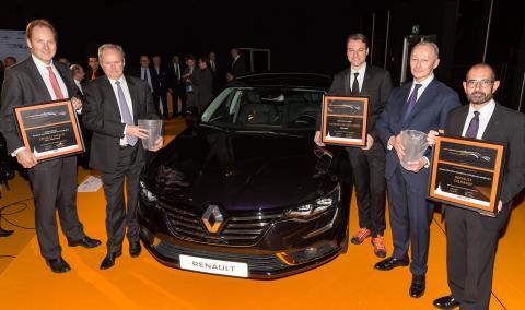 Prisregn over Renault ved prestigefyldt prisuddeling