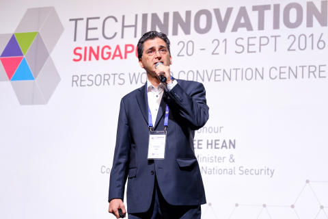 TechInnovation 2016 keynote speaker Dr Reza Ghahary, Director Innovation Networks & Communication, Evonik Industries AG