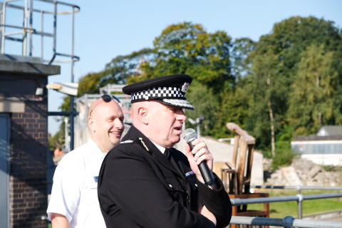 Chief Constable Andy Cooke speaks ahead of the event