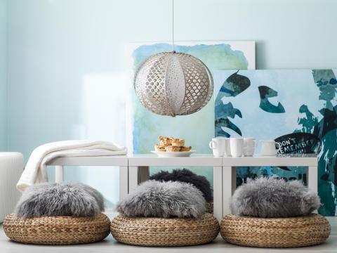 Nya färgkartor från Caparol - Nya kulörer och inspirationsmiljöer för hållbar trendig färgsättning inomhus